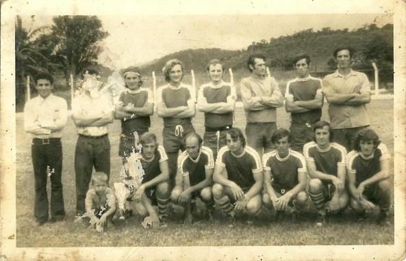 Alegrete Futebol Club – Campo Humaitá. Ano 1972 - Nova trento