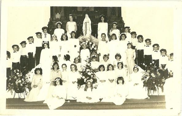 Coral São Virgilio - coroação Nossa Sra de Maio -  1976
