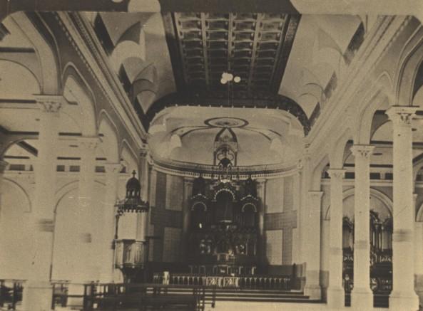 Vista Interna da Igreja Matriz Antes da Reforma