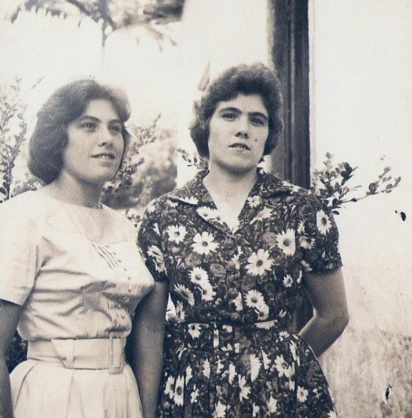 As irmãs Antonia e Marta Darós – Mato Queimado 1961