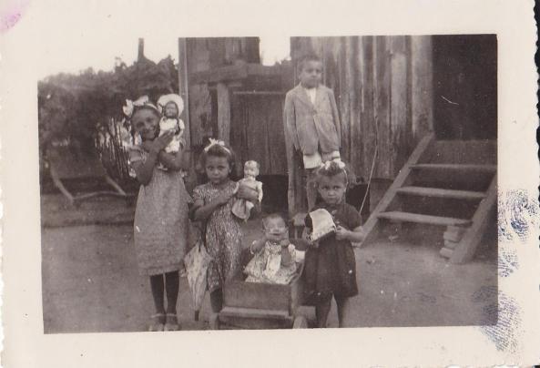 Filhos de Jacinto Alfredo Dadam. Foto do início dos anos 50
