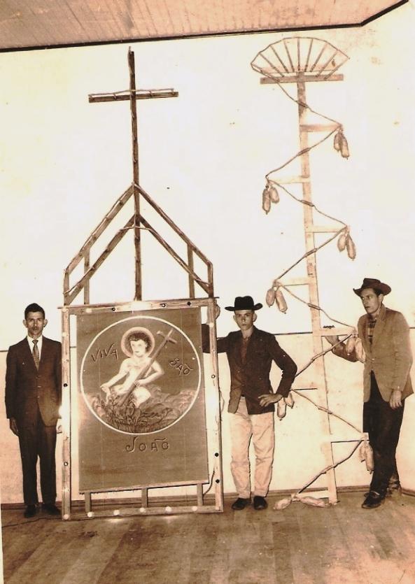 Firmino Franzói, Antonio Darós e Gil Claudio Zanluca - 1960