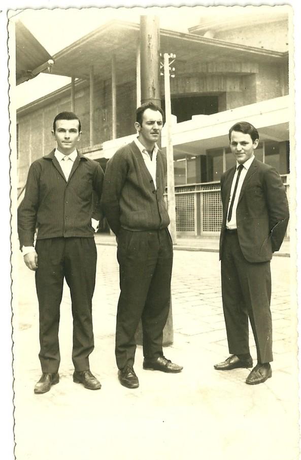 Pedro Marchiori, Mario Cipriani e Lidovino Manoel Bonecher