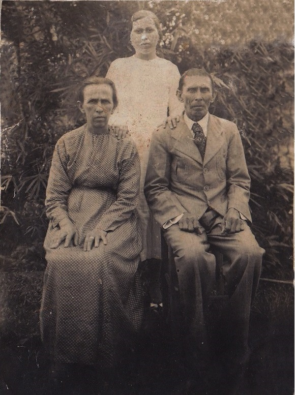 rafael dadam, angelina luchini e henriqueta mercedes dadam-anos-40.