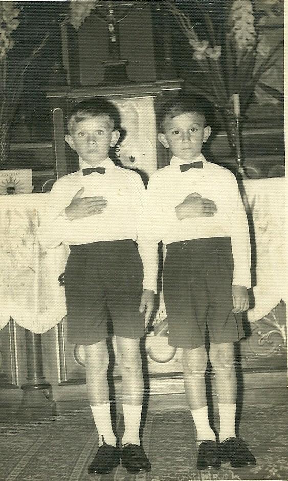 Lembrança Comunhão Vilson e Nelsinho Speranzini