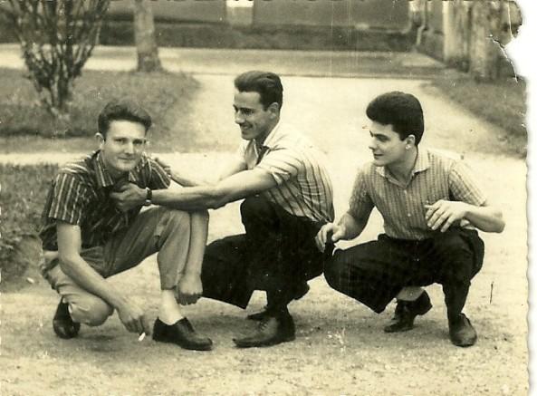 Valdemiro Cipriani, Dionicio Cadori, José Cadori (Zezinho) Piazza Del Comune