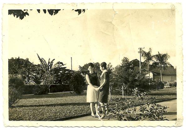 Primas Luiza e Nair Tomazoni