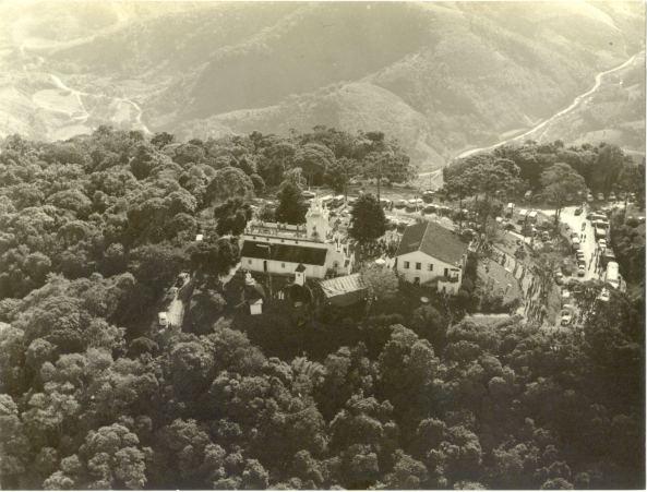 Santuário de Nossa senhora do Bom Socorro (Morro da Cruz) no ano de 1977