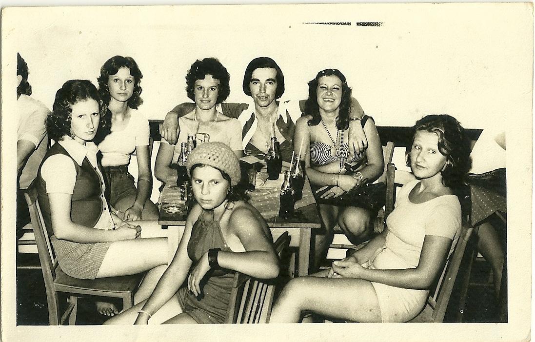 SR Primavera - Carnavel de 76 - Lurdes, Tinha, Goreti, Bento, ......., Vilda, .......