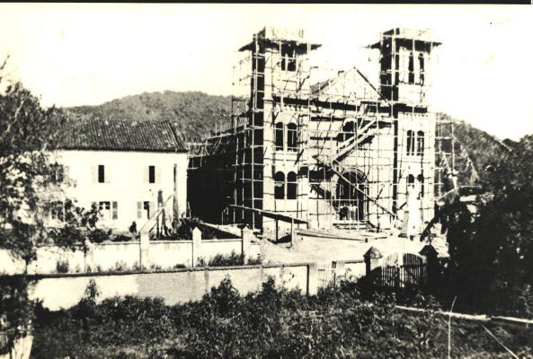 Construção Igreja Matriz de Nova Trento