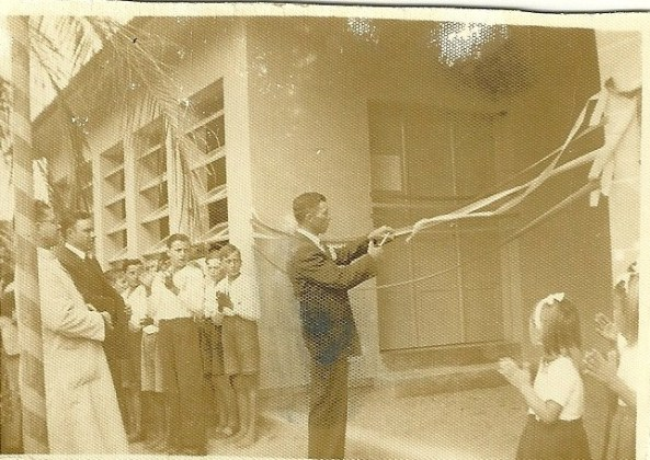 Valentim Borgonovo - Inauguraçao Escola