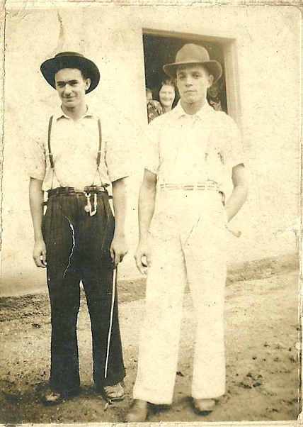 Esquerda para direita, Luiz Zandonai