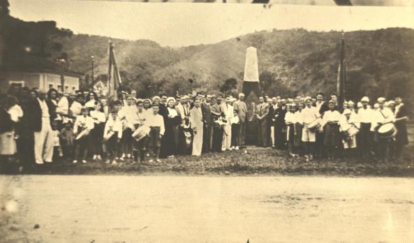 Marco Comemorativo 50 anos Emancipação Nova Trento
