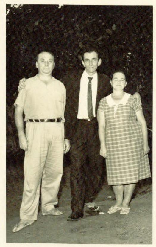 Irmão Cansi, Antonio Cipriani e Aldina Voltolini Cipriani