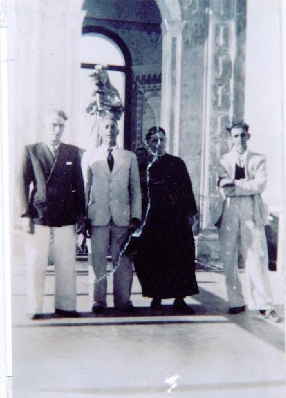 José Cadorin, Francisco Cadorin, Pe. Ludovino Santini e Antonio Cipriani