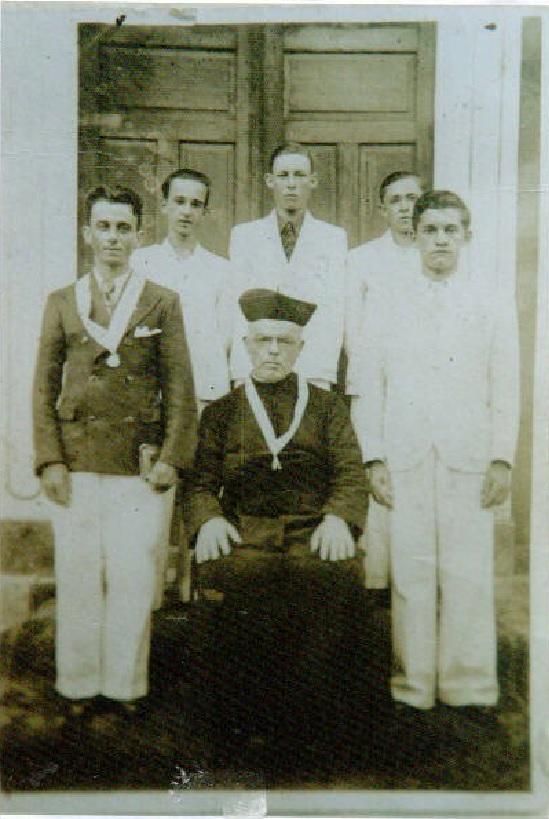 Zelino Ofman, Almir Feller ..... e Padre José da Poian