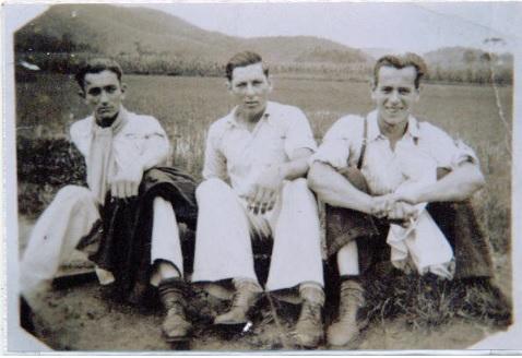Da direita para a esquerda  Palmo Tirloni, Salvador Géssele e Antônio Cipriani
