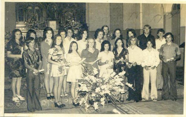 formandos 1973 - Francisco Mazzola - Nova Trento