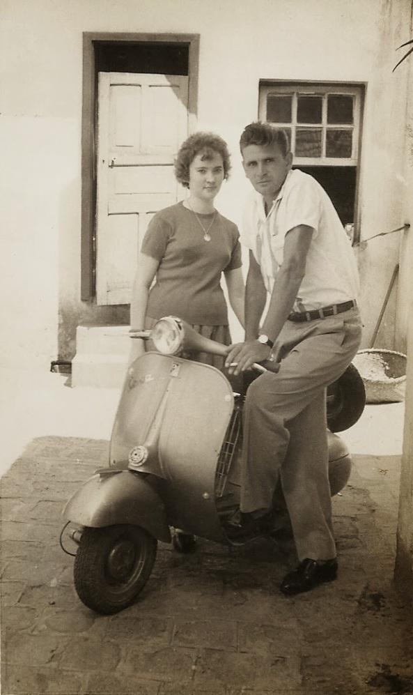 Júlia e Gelásio Daros - década de 50