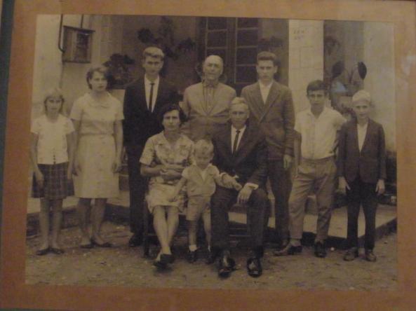 Família Alberto e Hilária Cadorin