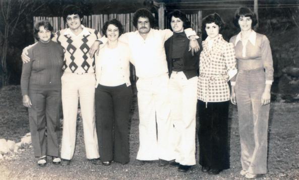 Foto família Facchini